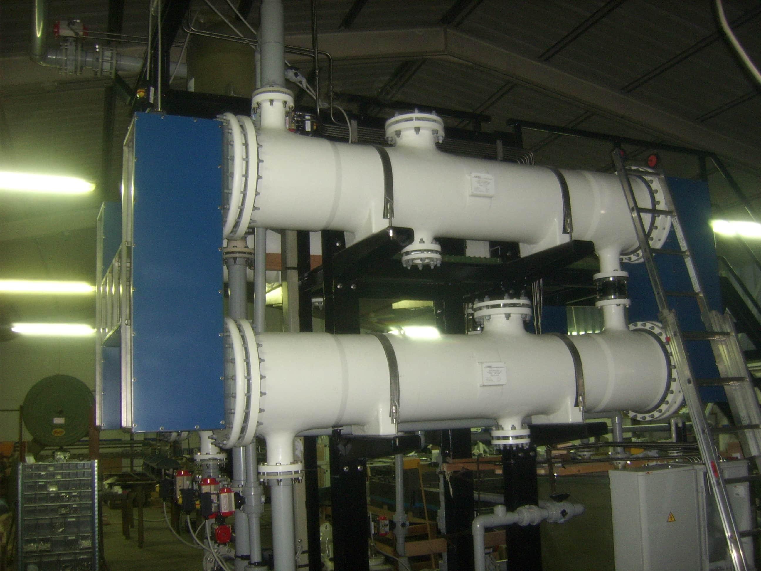 Skid per elettroclorazione